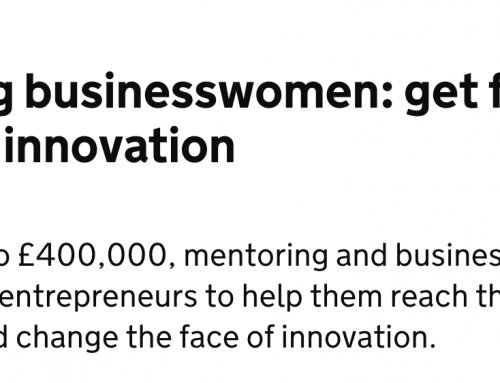 @InnovateUK – Women in Innovation award